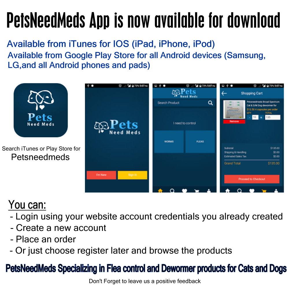 petsneedmeds app